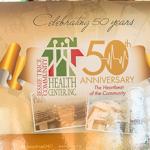 50 year anniversary banner